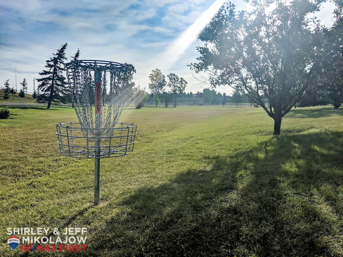 Bonavista Downs Community Disc Golf Course Basket Hole Chains