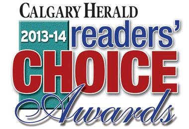 Calgary Herald Readers Choice Real Estate Gold Remax