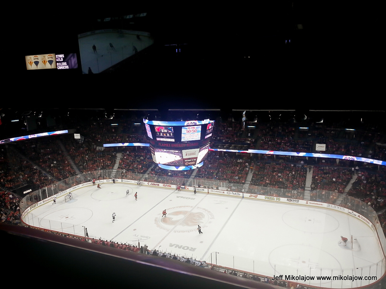 Re Max At The Saddledome For Calgary Flames And Hitmen Games
